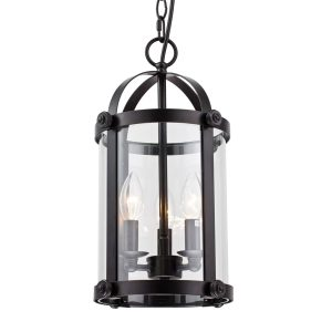 Farmhouse Birdcage Foyer Lantern Pendant Light
