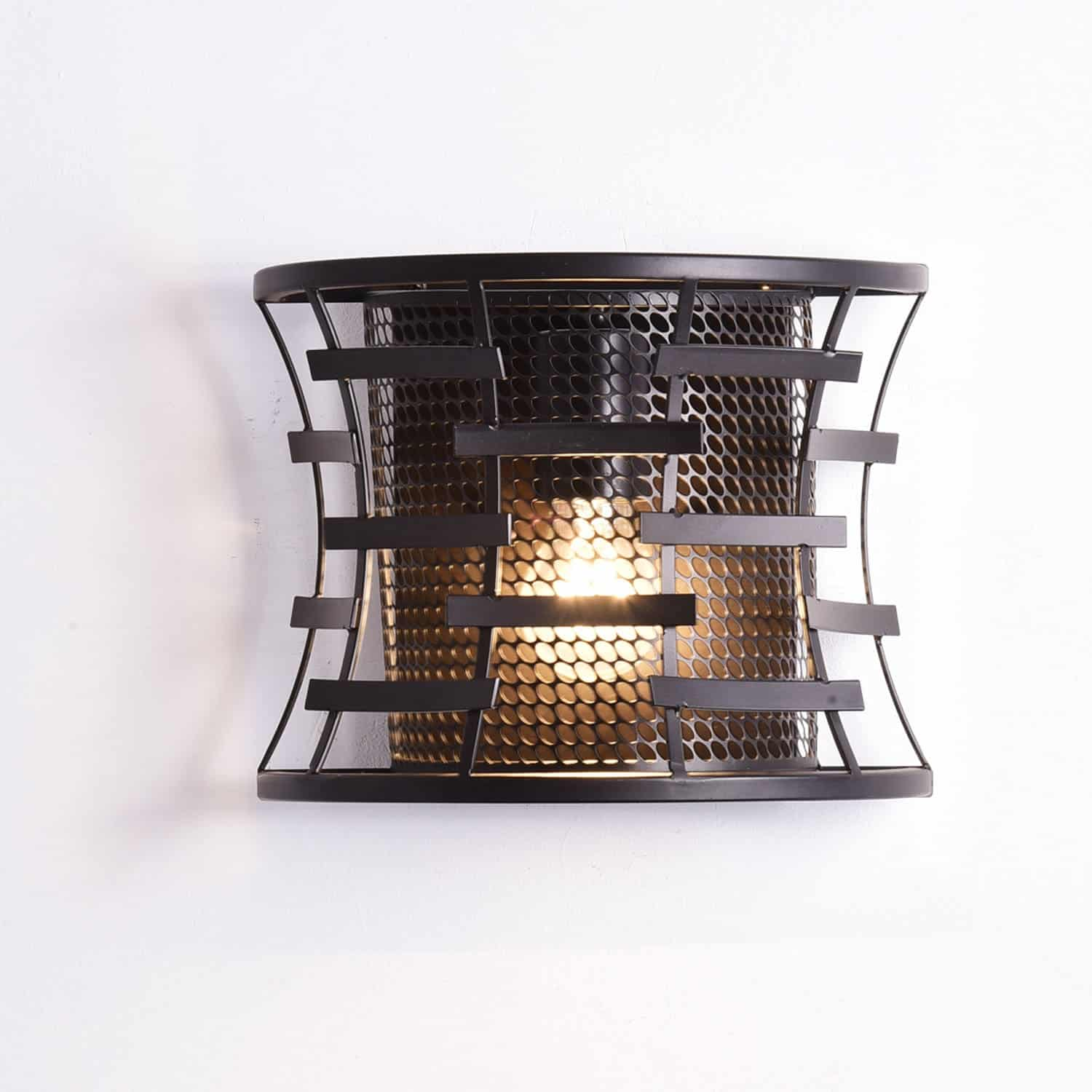 Oil rubbed Bronze Metal Rustic Wall Sconce Lighting