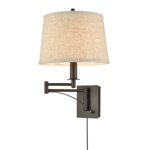 Swing Arm Wall Lamp Plug in Wall Sconces