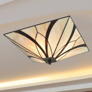 Tiffany Stained Glass Industrial Ceiling Lights for Kitchen