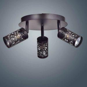 Vintage 3-Light Spot Ceiling Light Track Lighting