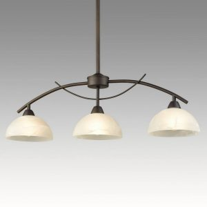 Vintage Arched 3-Light Kitchen Pendant Lighting, Golden Bronze
