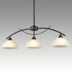 Vintage Arched 3-Light Kitchen Pendant Lighting, Golden Bronze