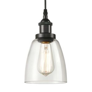 Modern Mini Bell Glass 3 Light Pendant Fixture