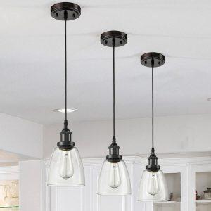 Modern-Mini-Bell-Glass-3-Light-Pendant-Fixture