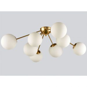 Elegant Modern Globe Ceiling Light