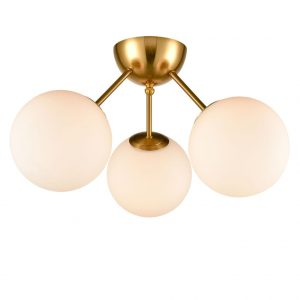 Modern Globe Ceiling Light