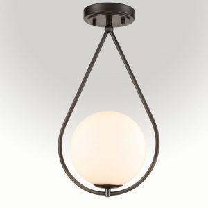 Modern Vanity Kitchen Semi Flush Mount Ceiling Light Fixture