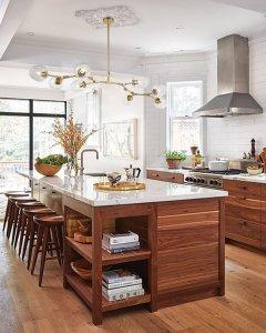 kitchen-sputnik glass chandelier