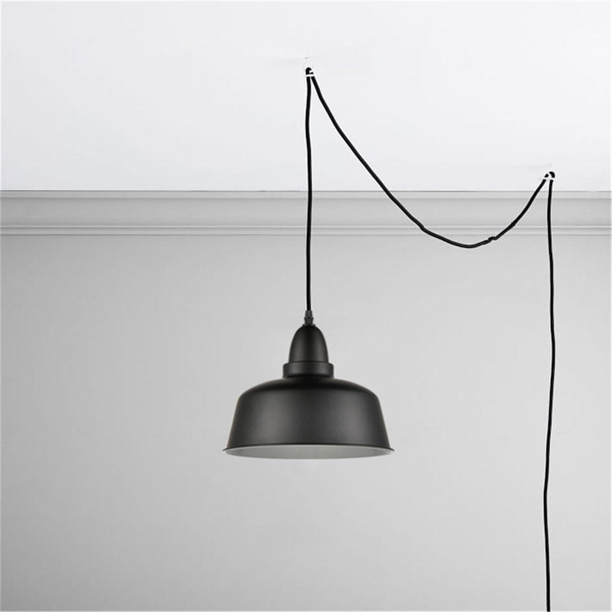 Modern-Mini-Black-Plug-in-Pendant-Light-Dome-Shade-3.jpg