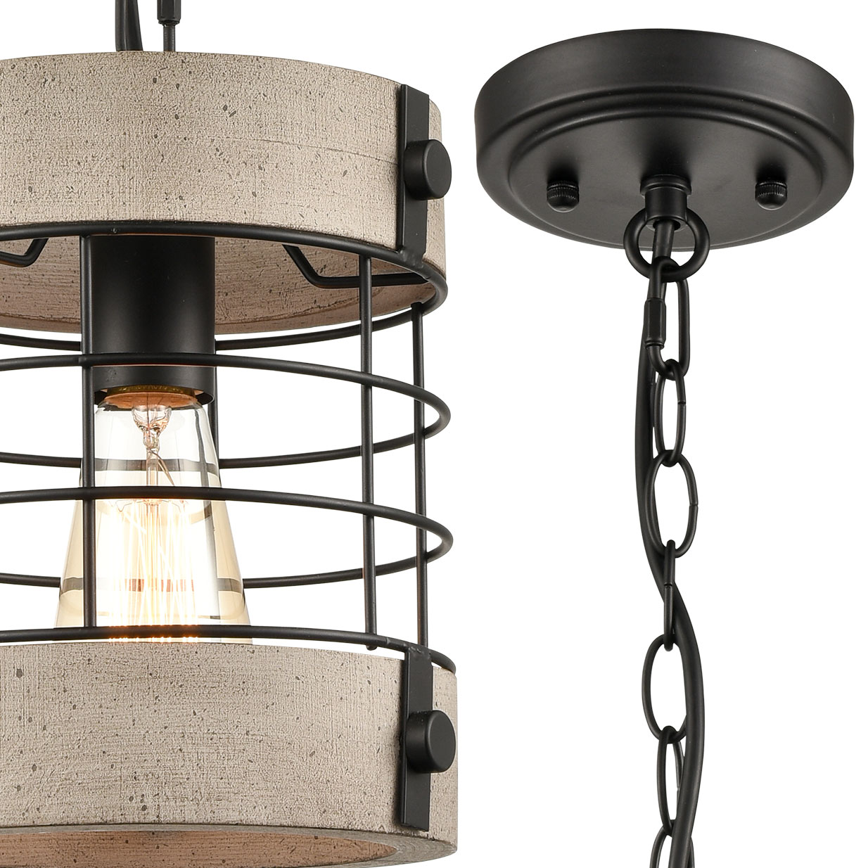 Rustic-Wood-and-Metal-Wire-Cage-Pendant-Light-Round-Shape-9