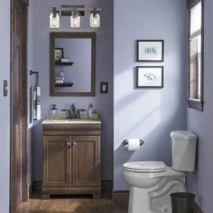 2-rustic wall light bathroom