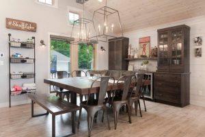 3rustic dining room geometric