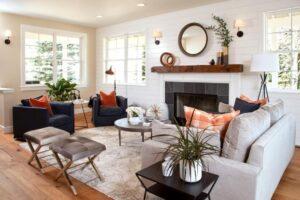 4-rustic wall light living room1