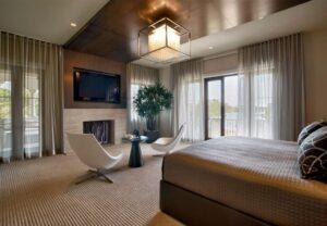 4bedroom semi flushmount ceiling light square-min