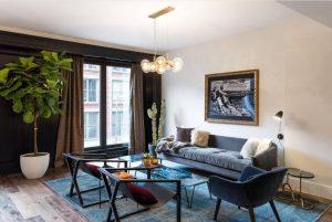 2Mid-century modern living room2
