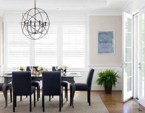 3crystal chandelier dining room