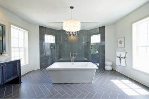 6bathroom modern chandelier