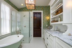 10bathroom wood and square cage