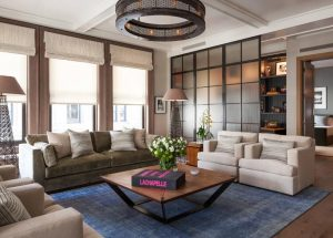1wire mesh living room