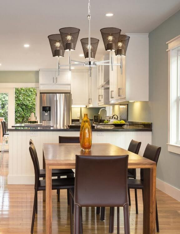 3wire mesh dining room