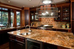 4wire mesh chandelier kitchen