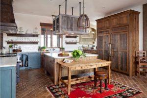 8chicken wire wood kitchen