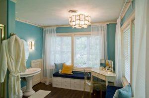 10bathroom drum tiered ceiling