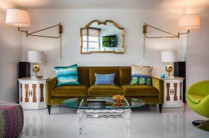 4mid century living room