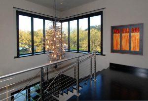 2modern chandelier brands staircase