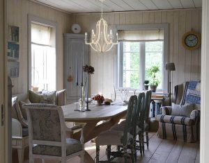 3 Wood Chandelier dining1