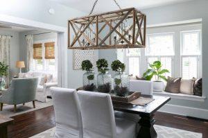 4wood chandelier dining2 rectan