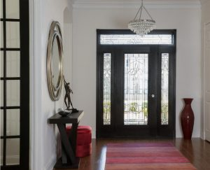 1Crystal glass foyer