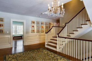 2Crystal glass staircase