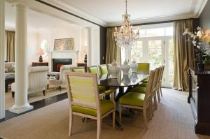 4Crystal glass dining