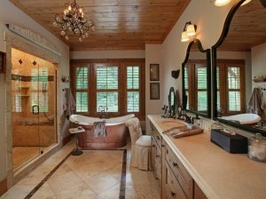 7glass bathroom
