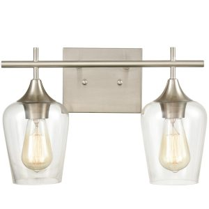 Modern Bathroom Wall Sconces Vanity Light Brushed Nickel (5)