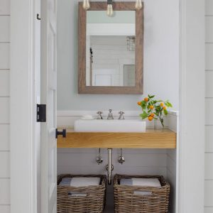 Farmhouse Bathroom Vanity Light Over Mirror 3-Light