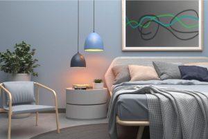 5plug-in pend - bedroom1 - dome color