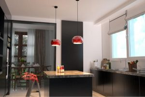8plug-in pend - kitchen2 - red