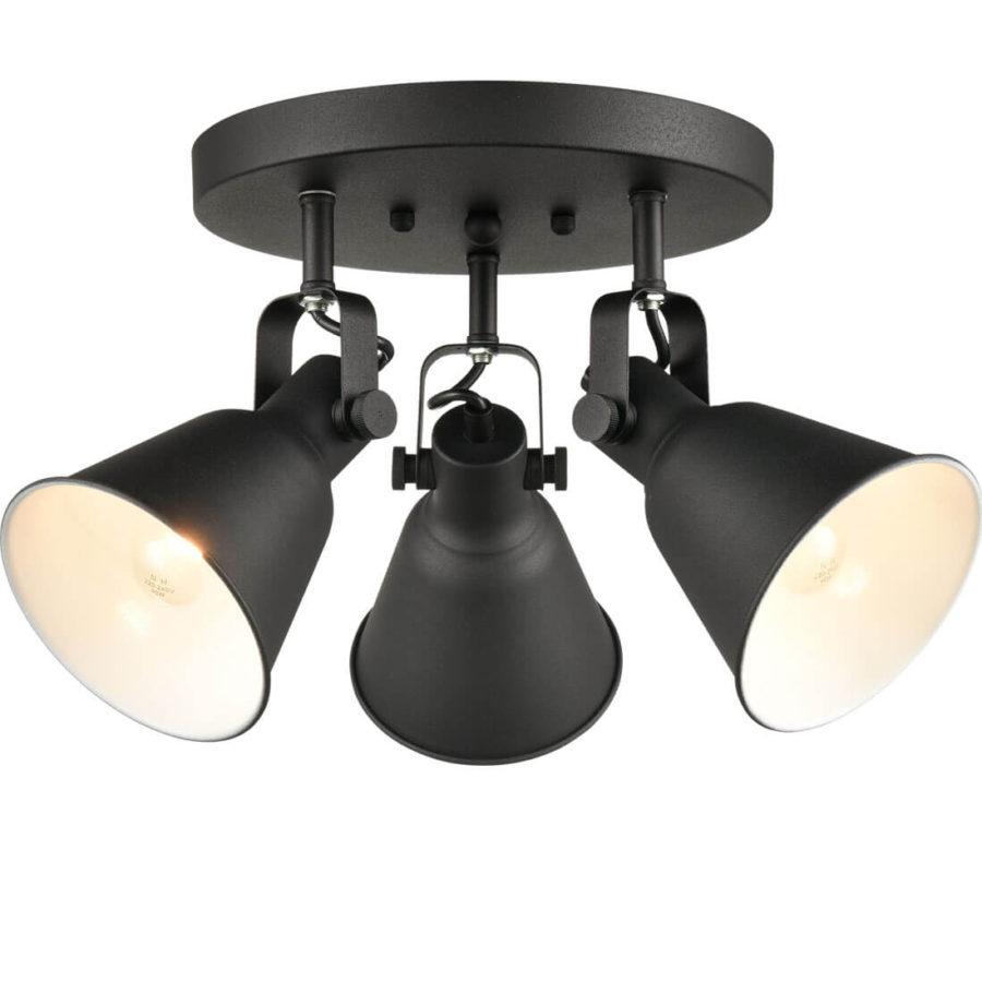 Industrial Multi-Directional Metal Matte Black Ceiling Lights