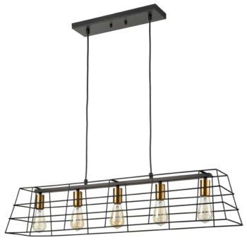 Farmhouse Kitchen Island Pendant Lighting Black Brass Pendant