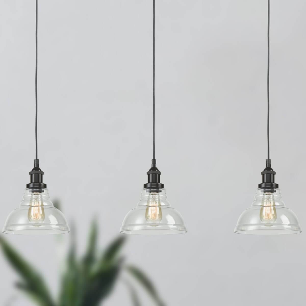 Industrial Kitchen Island Pendant Lighting Barn Shape Bronze Finish