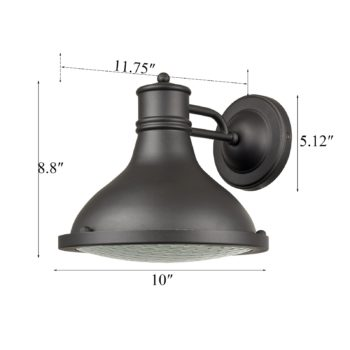 Industrial Outdoor/Indoor Porch Wall Sconce Exterior Wall Lights