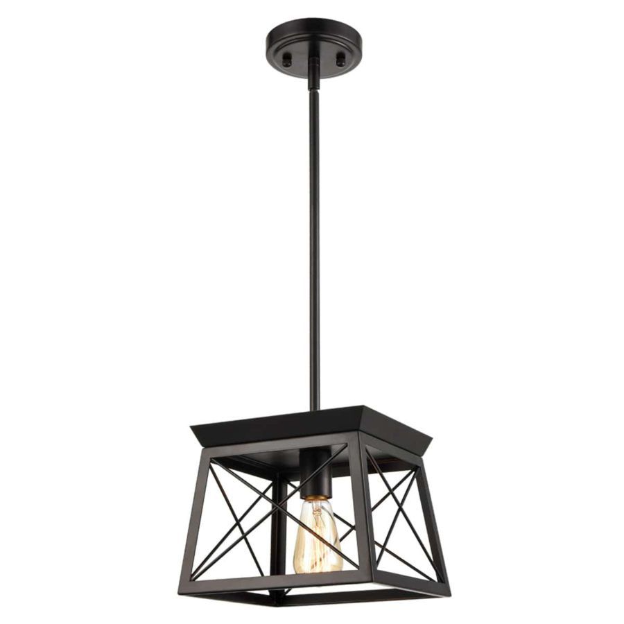 Industrial Pendant Lighting Flush Mount Ceiling Light Convertible