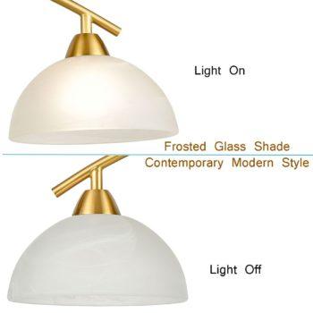 Modern Kitchen Island 4-Light Pendant Lighting,Brass Finish