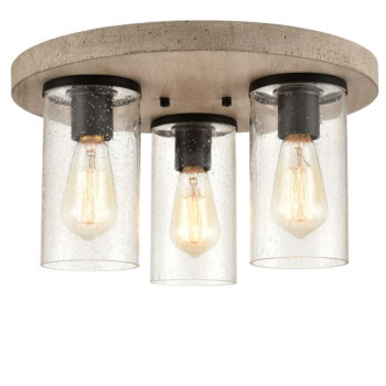 Rustic Mason Jar Ceiling Light Flush Mount with Real Wood Canopy