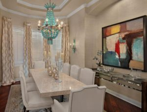 2a perfect chandelier dining
