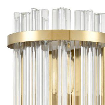 Modern Crystal Wall Sconces Brass Gold Wall Lights Fixture