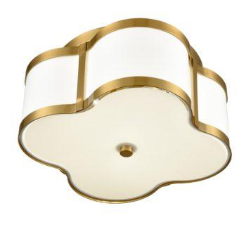 Gold Flush Mount Ceiling Light Fixture Modern Light Fixture Ceiling
